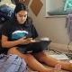 Student struggling with virtual school
